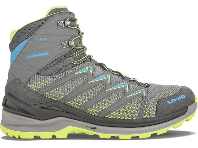Lowa Innox Pro GTX Mid-Cut Schuhe Herren graphite/lime